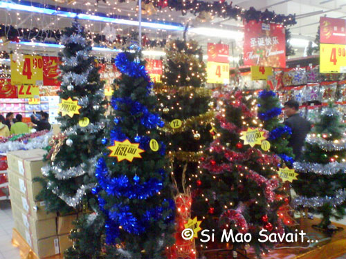 No l chez carrefour a m 39 nerve si mao savait - Decoration de noel carrefour ...