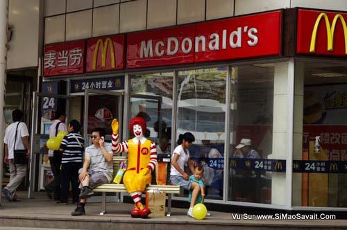 le marketing des fast food en chine si mao savait. Black Bedroom Furniture Sets. Home Design Ideas